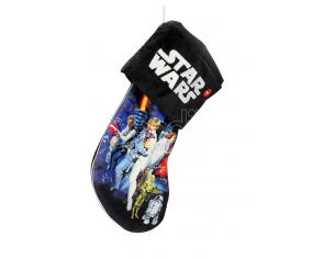 SD TOYS SW REBELS XMAS SOCK 45 CM W/LIGHT DECORAZIONI NATALIZIE