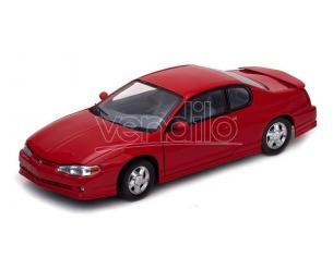 SunStar SS1987 CHEVROLET MONTE CARLO SS 2000 RED 1:18 Modellino