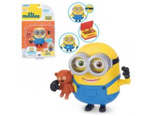 Minions Deluxe Action Figures Bob con Orsetto Teddy 14cm Thinkway Toys