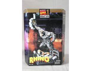 MARVEL COMICS LEVEL 1 RHINO SNAP TOGETHER MODEL KIT SCATOLA ROVINATA