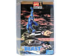 MARVEL COMICS LEVEL 1 THE BEAST SNAP TOGETHER MODEL KIT SCATOLA ROVINATA