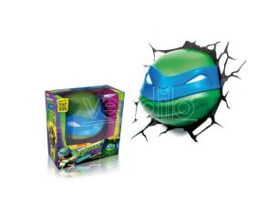 Lampada Led 3dLightFx Ninja Turtles Leonardo SCATOLA ROVINATA