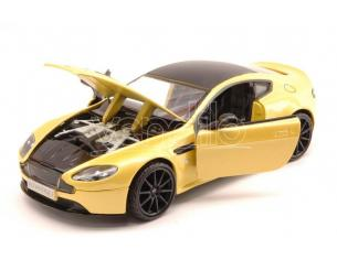 Motormax MTM79322Y ASTON MARTIN V12 VANTAGE S 2013 PASTEL YELLOW 1:24 Modellino