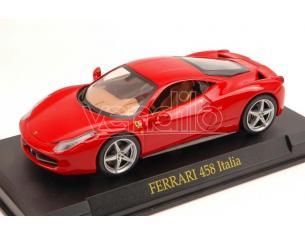 Spark Model SPC211974 FERRARI 458 ITALIA 2009 RED BLISTER (SENZA CUPOLA) 1:43 Modellino