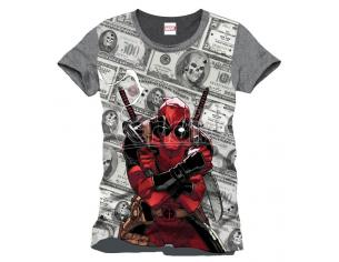 Maglietta Deadpool T Shirt Bills Size L CODI