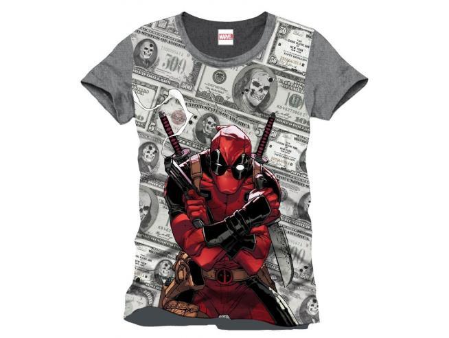 Maglietta Deadpool T Shirt Bills Size L CODI
