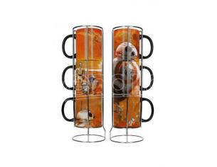 SD TOYS SW EP7 BB-8 DROIDS 3 STACKBL MUGS SET TAZZA