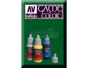 VALLEJO GAME COLOR SICK GREEN 72029 COLORI