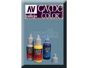 VALLEJO GAME COLOR STEEL GREY 72102 COLORI
