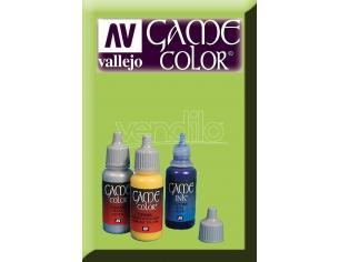 VALLEJO GAME COLOR FLUO GREEN 72104 COLORI