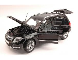 Welly WE11008BK MERCEDES GLK 300 4MATIC 2013 BLACK GT EDITION 1:18 Modellino
