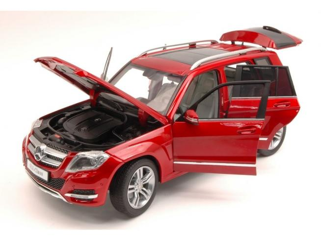 Welly WE11008R MERCEDES GLK 300 4MATIC 2013 RED GT EDITION 1:18 Modellino
