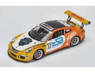 Spark Model S4697 PORSCHE CARRERA N.17 SUPERCUP CHAMPION 2015 PHILIPP ENG 1:43 Modellino