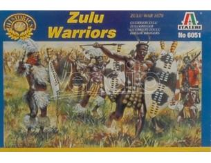 Italeri IT6051 ZULU WAR ZULU WARRIORS KIT 1:72 Modellino