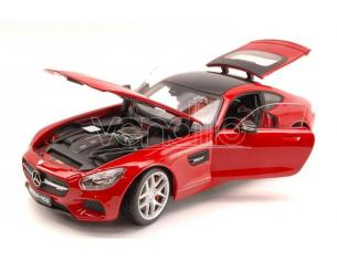 Maisto MI38131R MERCEDES AMG GT 2014 RED EXCLUSIVE SERIES 1:18 Modellino