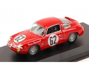 Best Model BT9617 FIAT 750 ABARTH N.62 29th (2nd CLASS) 12 H SEBRING 1959 CUSSINI-CATTINI Modellino