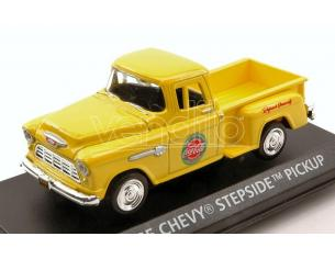 Motorcity Classics MCC430001 CHEVY STEPSIDE PICK UP 1955 YELLOW COCA COLA 1:43 Modellino