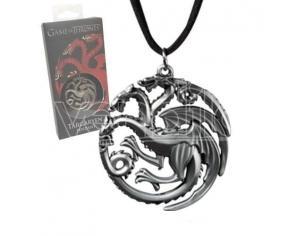 Ciondolo Il Trono di Spade Targaryen Game of Thrones Pendant Sigil Costume Noble