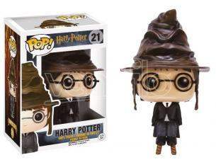 Funko Harry Potter POP Movies Vinile Figura Harry con Cappello Parlante 9 cm