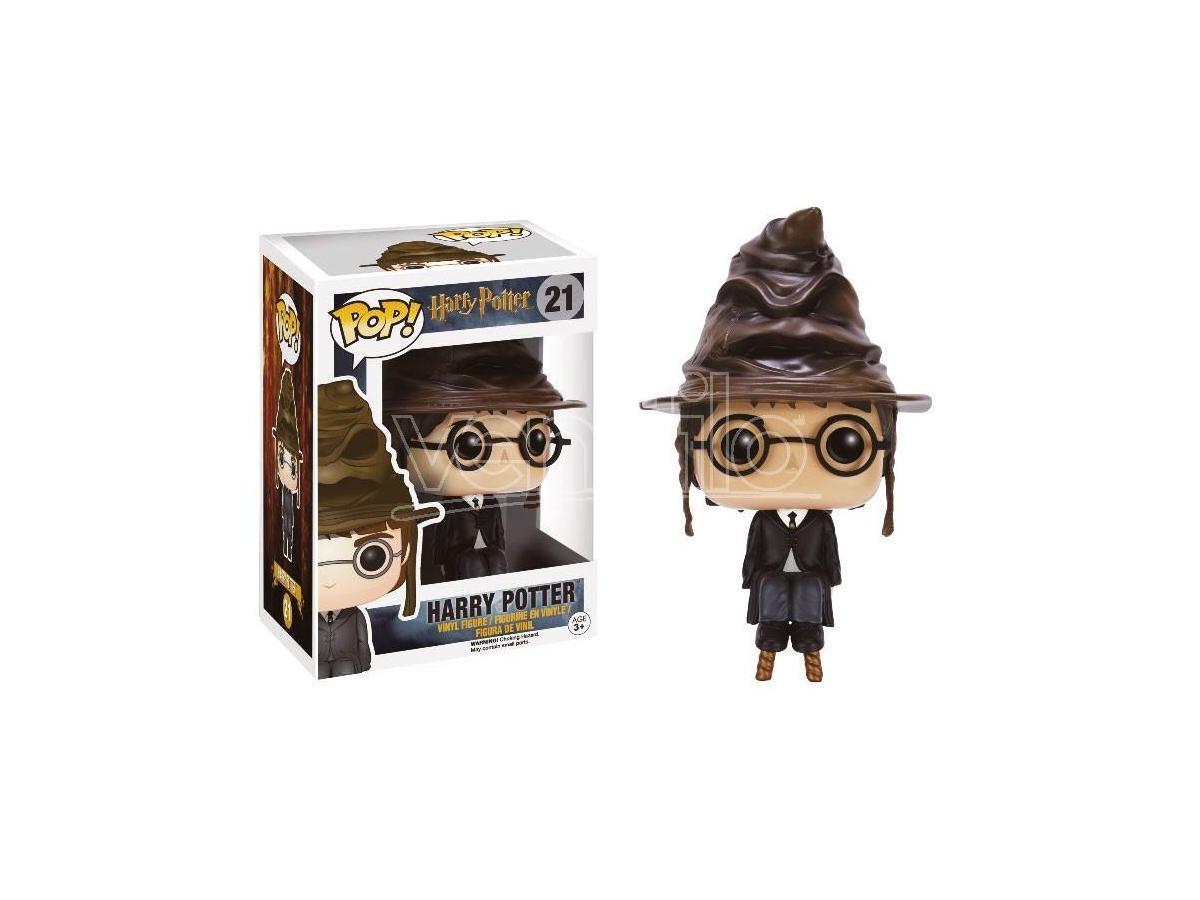 Harry Potter Funko POP Film Vinile Figura Harry Con Cappello Parlante 9 Cm