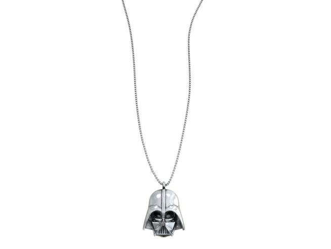SD TOYS SW DARTH VADER SILVER NECKLACE COLLANA