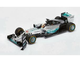 Spark Model S18179 MERCEDES W06 L.HAMILTON 2015 N.44 WINNER US GP WORLD CHAMPION 1:18 Modellino