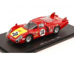 Spark Model S4367 ALFA ROMEO 33/2 N.38 5th LM 1968 C.FACETTI-S.DINI 1:43 Modellino
