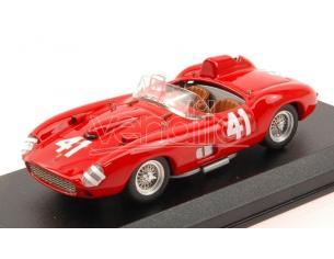 Art Model AM0340 FERRARI 315 S N.41 WINNER 500 MILES ROAD AMERICA 1957 P.HILL 1:43 Modellino