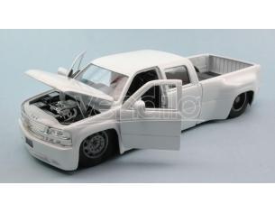 Jada JADA90145W CHEVY SILVERADO 1999 WHITE 1:24 Modellino
