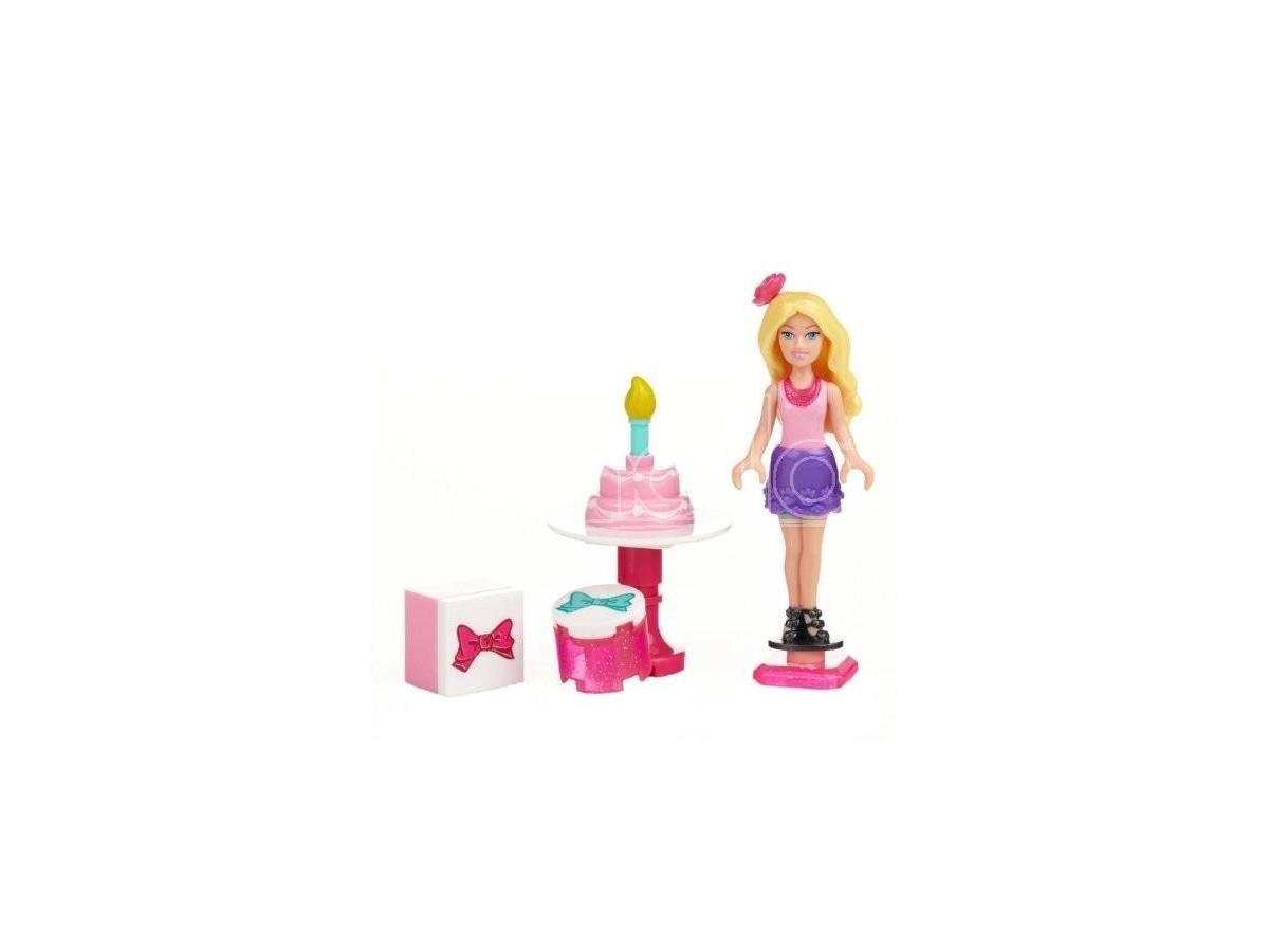 Barbie Party Time 80207 Mega Blocks Costruzioni Giocattolo