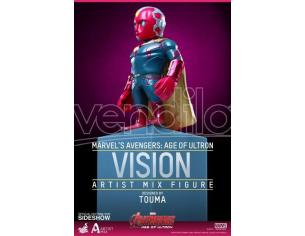 HOT TOYS AVENGERS AOU ARTIST MIX S.2 VISION FIGURA