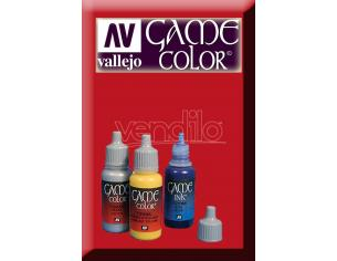 VALLEJO GAME COLOR BLOODY RED 72010 COLORI