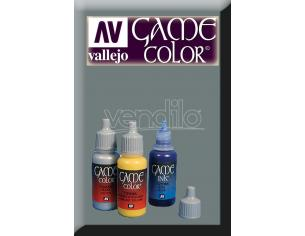 VALLEJO GAME COLOR CHAINMAIL SILVER 72053 COLORI
