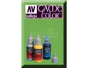 VALLEJO GAME COLOR GREEN WASH 73205 COLORI