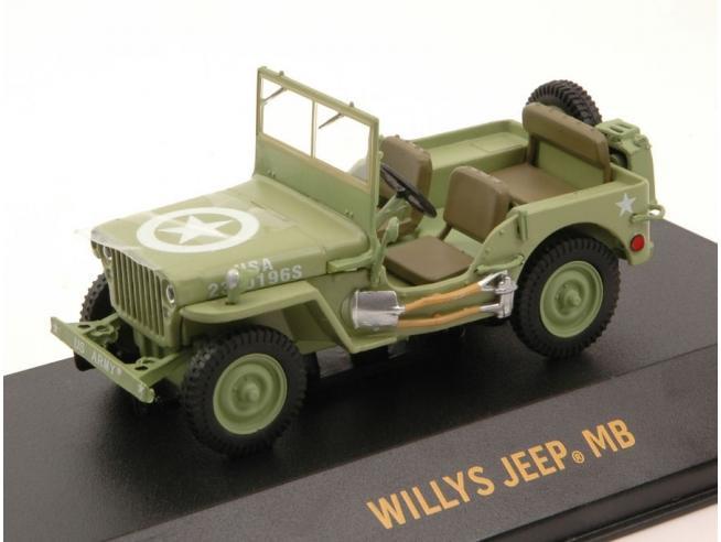 Greenlight GREEN86307 JEEP C7 1944 U.S.ARMY 1:43 Modellino