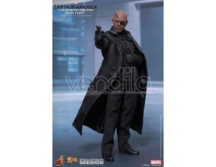 HOT TOYS CAPTAIN AMERICA 12 NICK FURY AF ACTION FIGURE