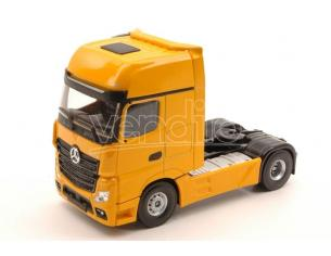 HOLLAND OTO UH2006 MERCEDES ACTROS MP4 GIGASPACE 4x2 YELLOW 1:50 Modellino