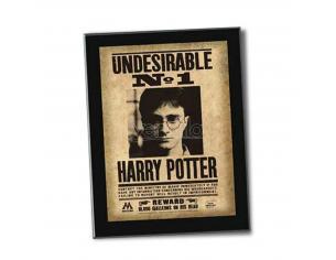 """Harry Potter e i Doni della Morte - Targa """"Undesirable No. 1"""" Collezione Noble"""