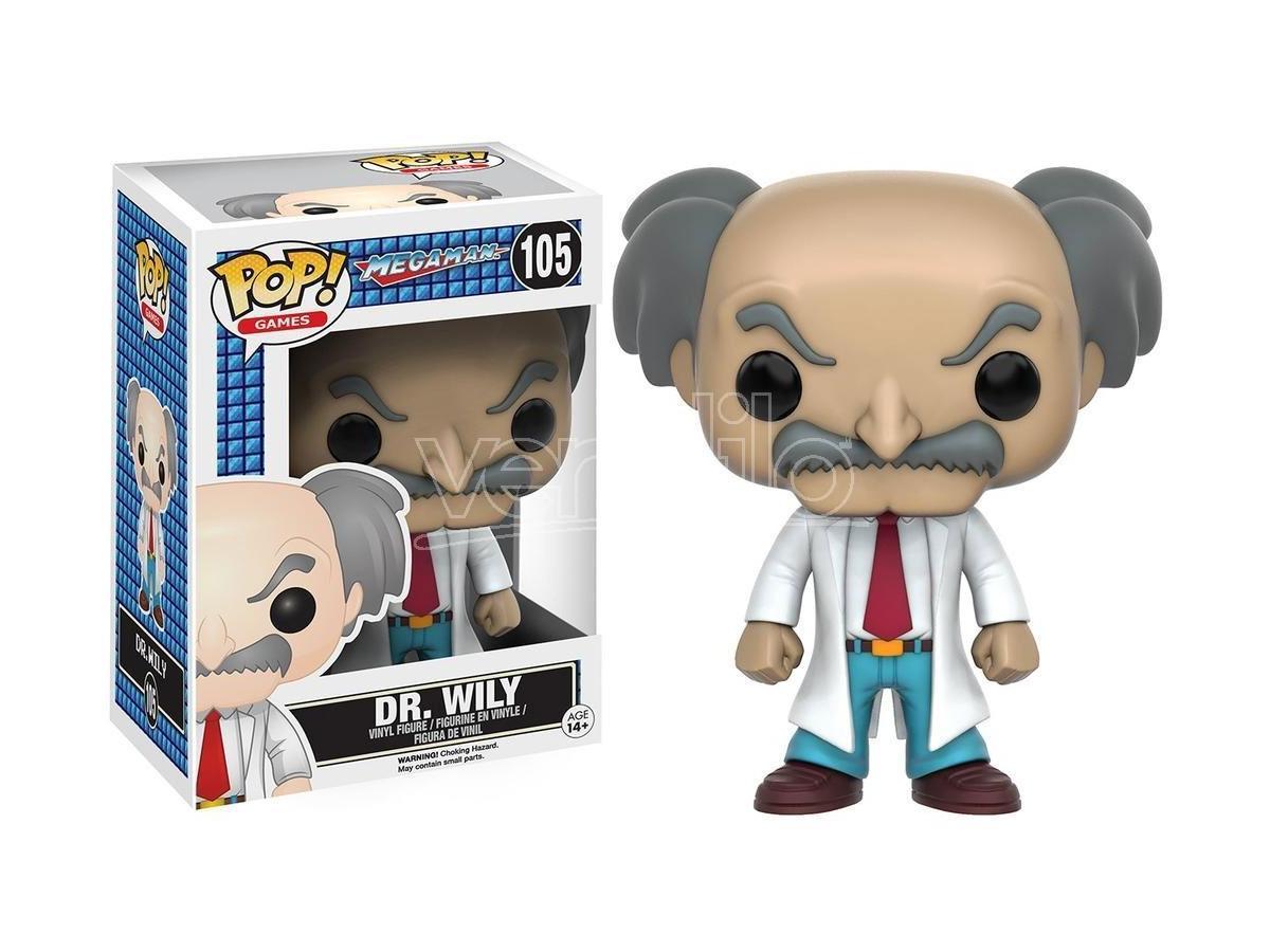 Funko MegaMan POP Games Vinile Figura Dr. Wily 9 cm