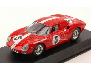 Best Model BT9629 FERRARI 250 LM N.5 DNF 1000 KM PARIS 1964 MULLER-BOLLER 1:43 Modellino