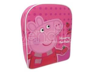 Zaino Peppa Pig rosa HORRAY FOR PEPPA
