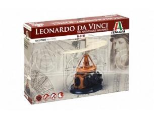 Italeri IT3110 LEONARDO DA VINCI HELICOPTER DIM.BOX cm 31x21x6 KIT Modellino