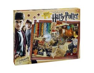 Puzzle Harry Potter Jigsaw Hogwarts 1000 pezzi Winning Moves