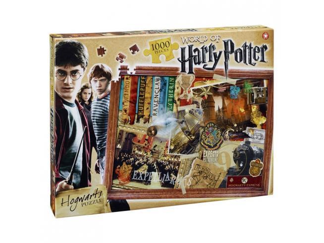 Puzzle Harry Potter Jigsaw Hogwarts 1000 pezzi Winning Moves