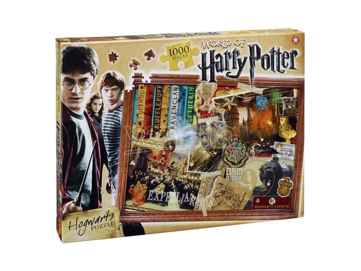 Harry Potter Puzzle Jigsaw Hogwarts 1000 Pezzi Winning Moves