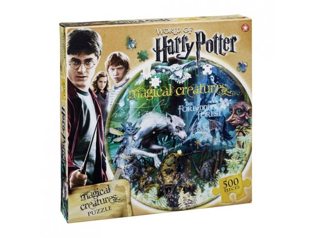 Puzzle Harry Potter Jigsaw Creature Magiche 550 pezzi Winning Moves