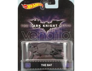 Hot Wheels HWCFR19 THE DARK KNIGHT RISES THE BAT cm 7 Modellino