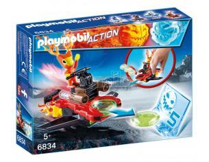 PLAYMOBIL 6834 - MAGMA CON SPACE-JET LANCIA DISCHI