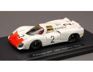 Ebbro EB44590 PORSCHE 908 N.2 6th 6 H WATKINS GLEN 1968 HERRMANN-IKUZAWA-SIFFERT 1:43 Modellino