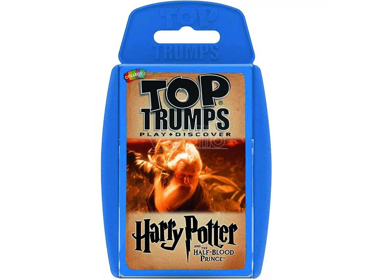 Harry Potter Top Trumps E Il Principe Mezzosangue Carte Gioco Winning Moves
